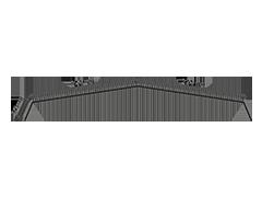 disegno colmo simmetrico per lamiere grecate